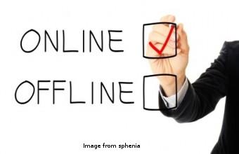 offline online
